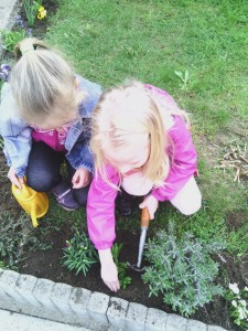 Kertészkedünk...